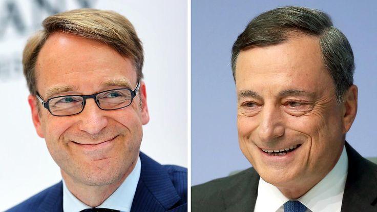 """Rufe nach Wechsel werden lauter: """"Anti-Draghi"""" Weidmann verteidigt EZB-Kurs"""