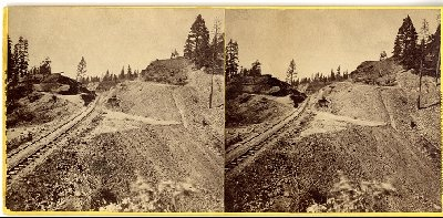 Lawrence & Houseworth Central Pacific Railroad construction photographs, 1866-1868  (25)  http://purl.stanford.edu/pm382dg9681