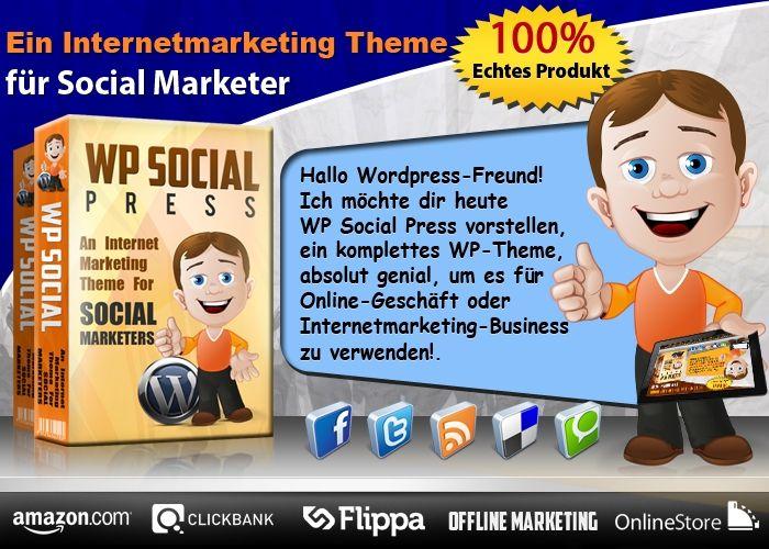 Wordpress Theme SocialPress