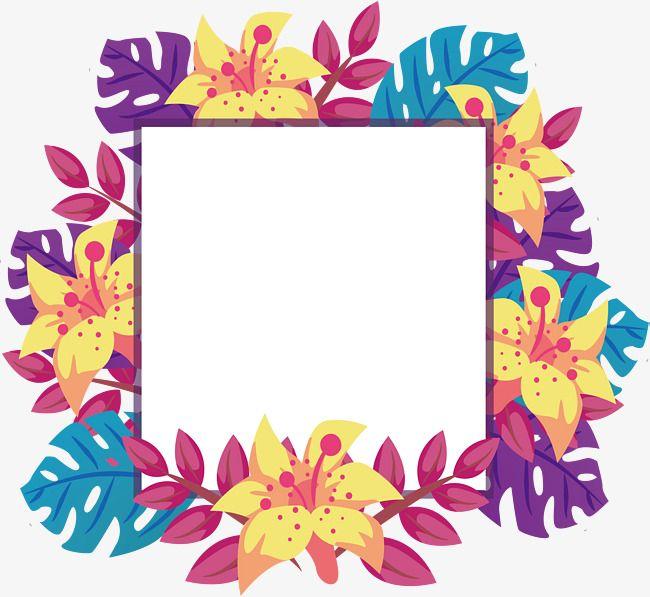 Color Leaves Decorative Frame Color Vector Frame Vector Vector Png Png Transparent Clipart Image And Psd File For Free Download Frame Decor Frame Framed Wallpaper
