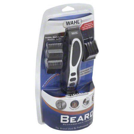 Wahl Beard & Stubble Rechargeable Trimmer 1 ea, Black