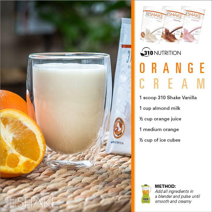Orange Cream // Substitute BodyKey Vanilla Meal Shake Mix