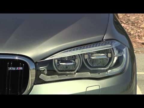 The new BMW X5 M Exterior Design Trailer