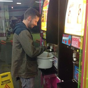 "Today is ""Bring Your Own Cup Day"" at 7-Eleven in Australia. 