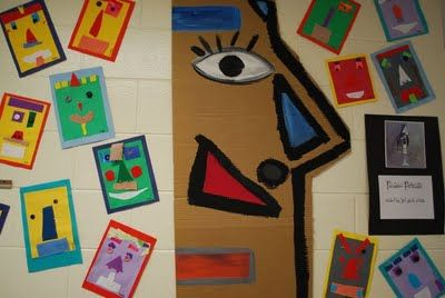 PAINTED PAPER: Picasso Faces
