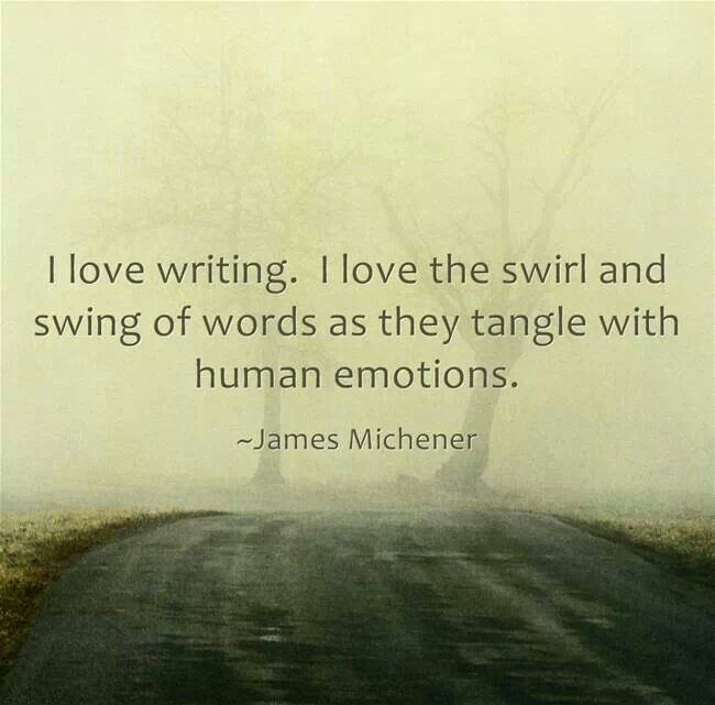 I love the swirl and swing of words as they tangle with human emotions.