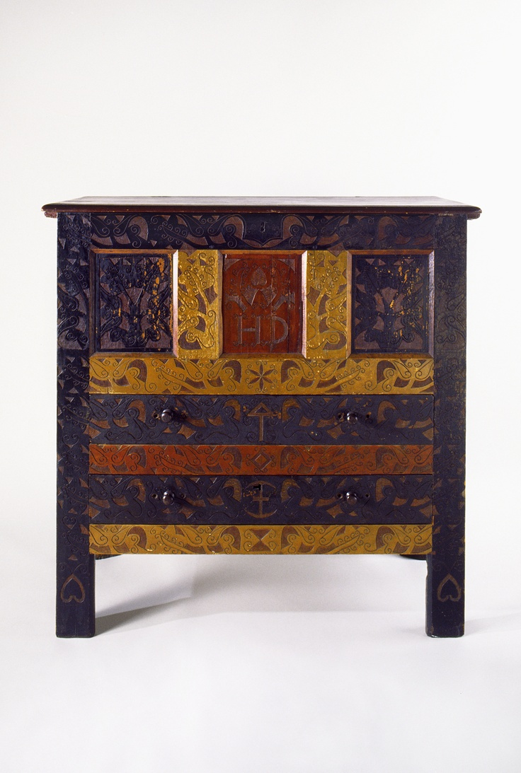 "Hatfield or Hadley, Massachusetts 1715-1720 Carved with the initials ""HD""  Soft - 10 Best Early American Furniture Images On Pinterest Early"