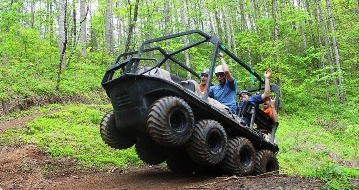 Bear crawler atv adventure in gatlinburg pigeon tn