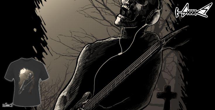 Magliette+Midnight+Rock+-+Disegnato+da+:+Lou+Patrick+Mackay