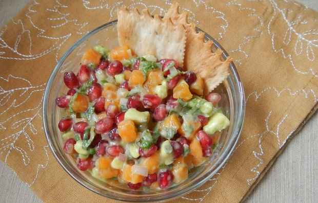 Pomegranate Winter Salsa Recipe — Dishmaps