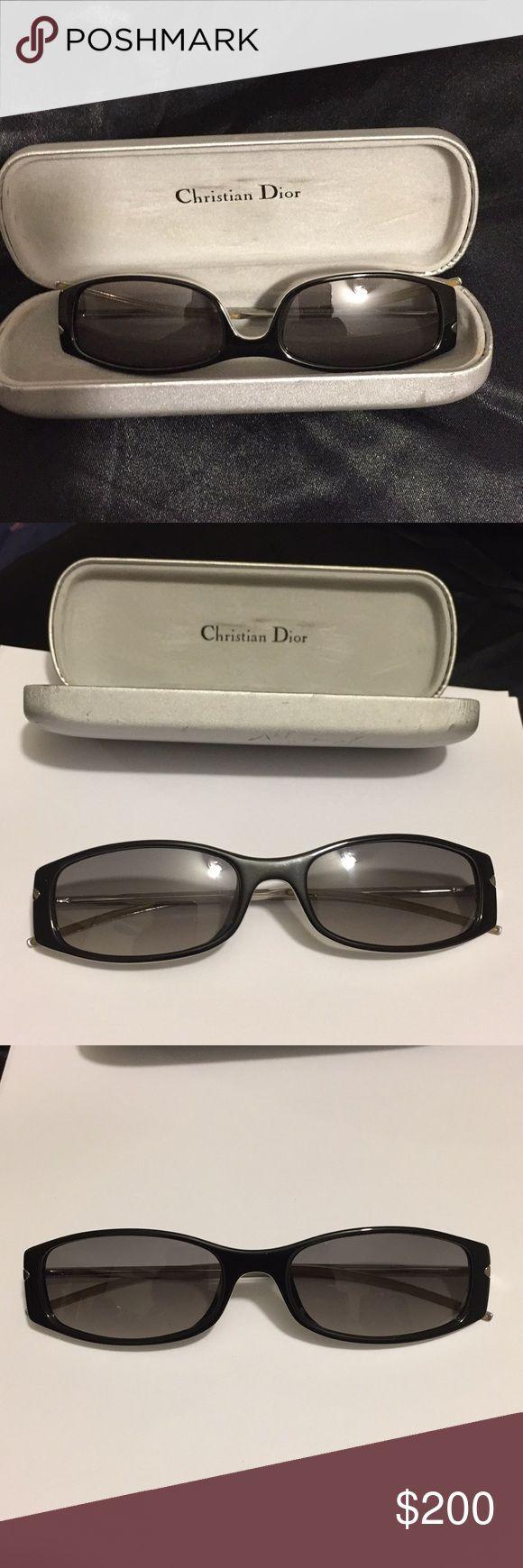 CHRISTIAN DIOR lunettes de soleil lunettes de style vintage CHRISTIAN DIOR lunettes de soleil…