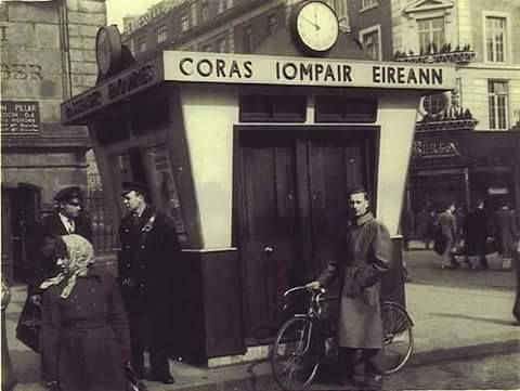 C.I.E ticket office, O 'Connell Street early 1960
