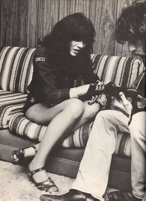 Linda Ronstadt and JD Souther