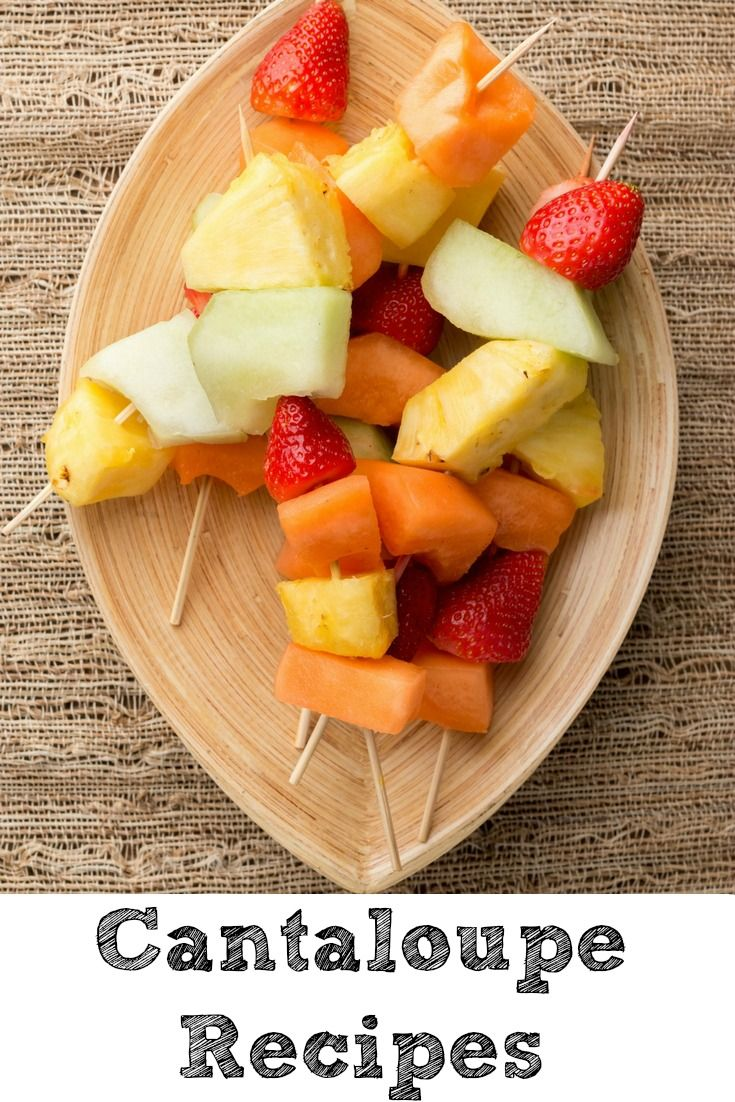 Cantaloupe Recipes are so much fun to make!! Perfect way to use up cantaloupes from the farmers market in the summer time!
