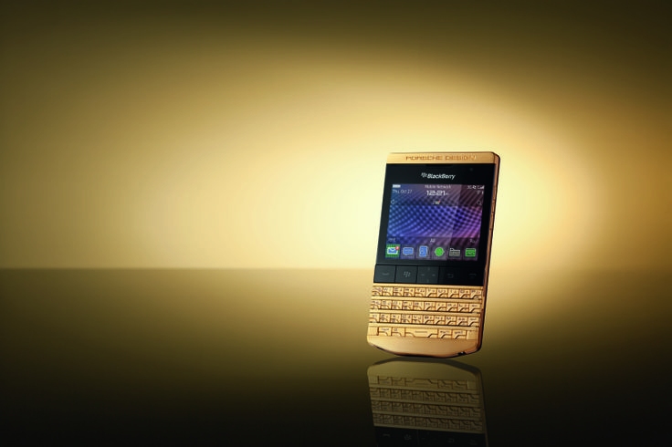 Porsche Design Blackberry p9981 smartphone