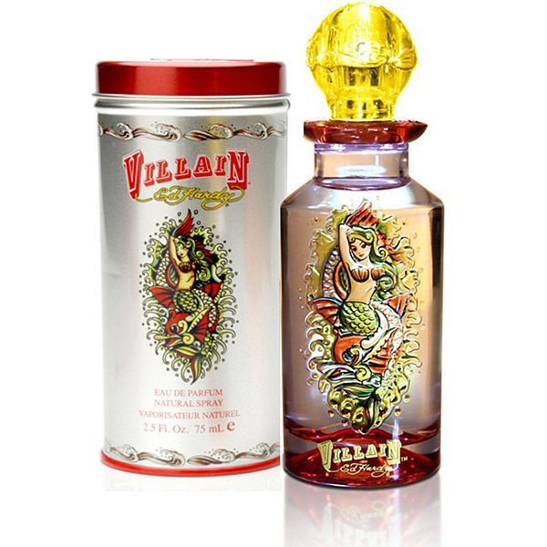 Ed Hardy Perfume Lotion Body Spray: Ed Hardy Perfume- Villian... His Perfume Line Is Just Incredible... I Have Them All...