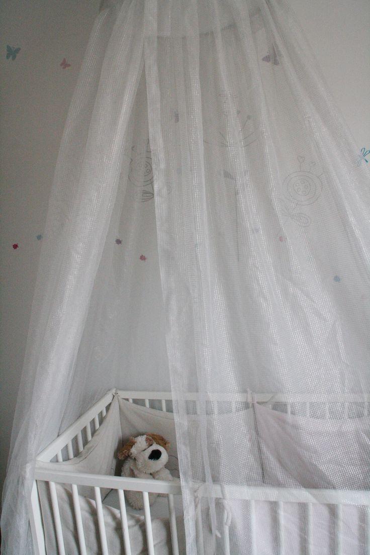 Ciel de lit anti-onde électromagnétique pour bébé. emnest.fr