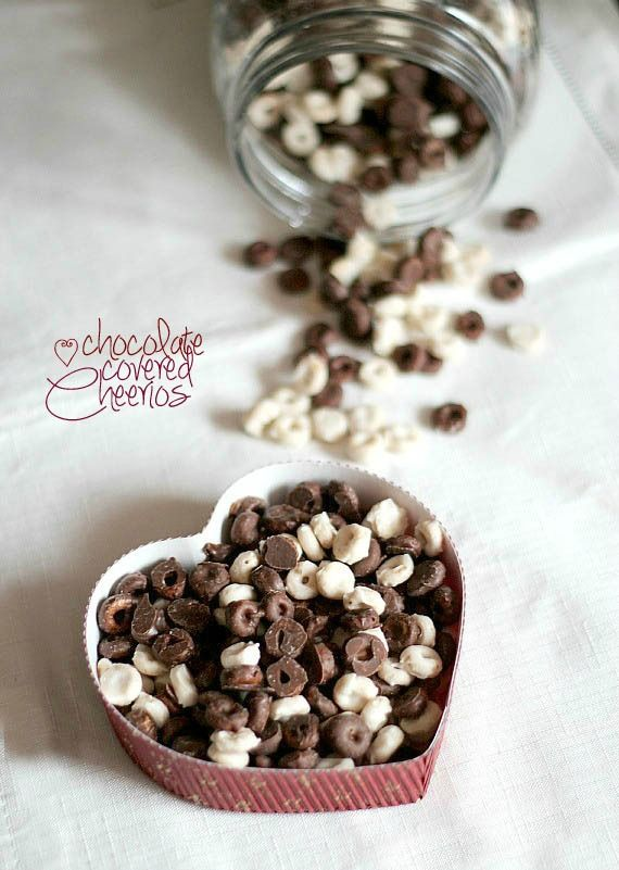 Chocolate Covered Cheerios