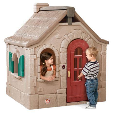 Jucarii de exterior :: Casute si spatii de joaca :: Casute pentru copii :: Casuta din poveste - Naturally Playful StoryBook Cottage STEP2