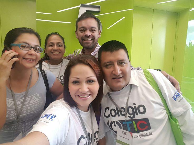 Listos para la segunda etapa del taller de formacion #colegio10tic #valledelcauca #soygestoratic #cali