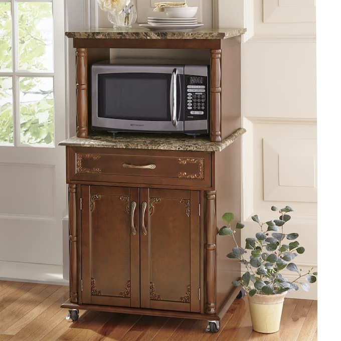 Registry Or Wishlist Microwave Cart