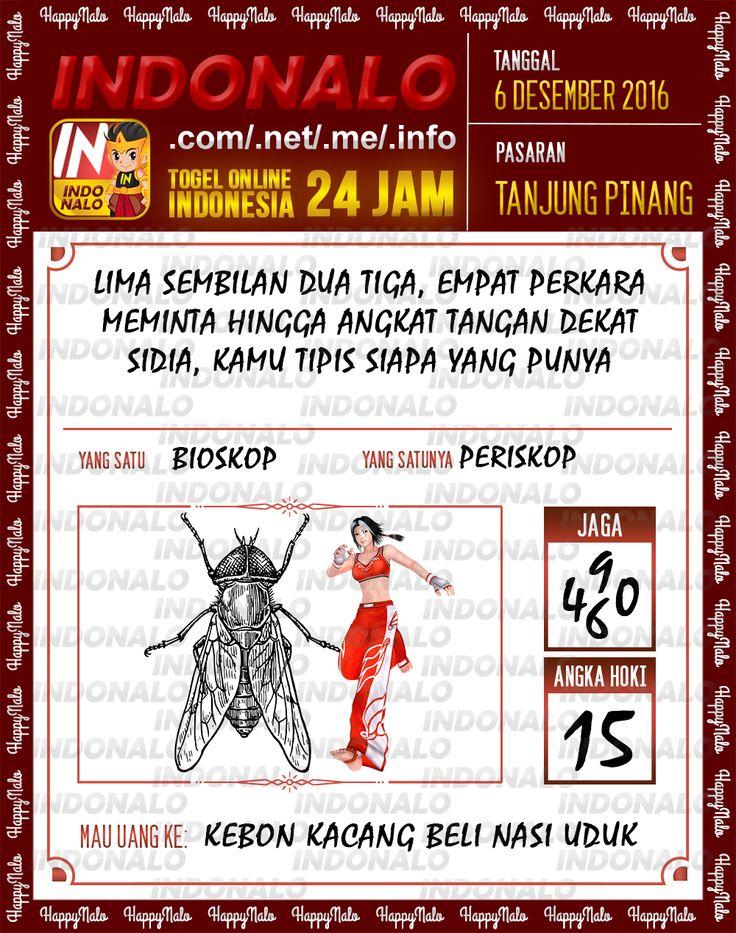Angka Kumat 2D Togel Wap Online Live Draw 4D Indonalo Tanjung Pinang 6 Desember 2016