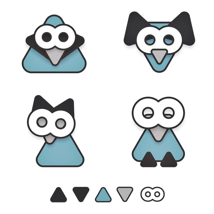Here you go @aaron_smillie My effort in response to your 5 shapes, 4 creatures with #assemblyapp exercise. #5shapes4creatures