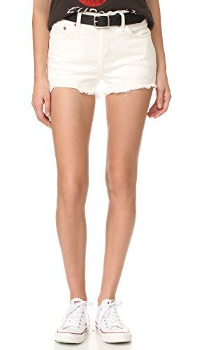 Levi's Women's 501 Shorts, With the Band, 25 Levi's http://amzn.to/2vEQ7fi