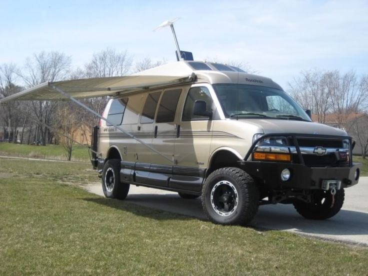 Roadtrek van with Aluminess bumpers | Roadtrek Vans with ...