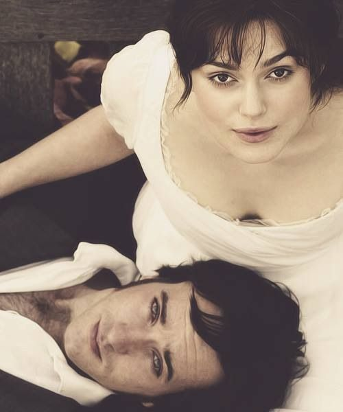 Matthew Macfadyen (Mr. Fitzwilliam Darcy) & Keira Knightley (Elizabeth…