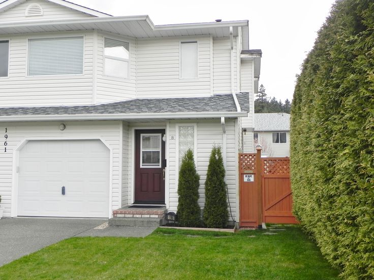 SOLD! 1961B 13th Street. Courtenay, BC. $228,000. Go to www.michelecourtney.com or call 1-877-216-5171and ask for Michele Courtney. Wonderful 3 bdrm 2.5 bath 1400+ sq ft duplex in central location. Hardwood & tile flooring, nicely painted throughout, fenced back yard with newer storage shed and spacious covered back patio.. Lots of storage throughout. A pleasure to show.