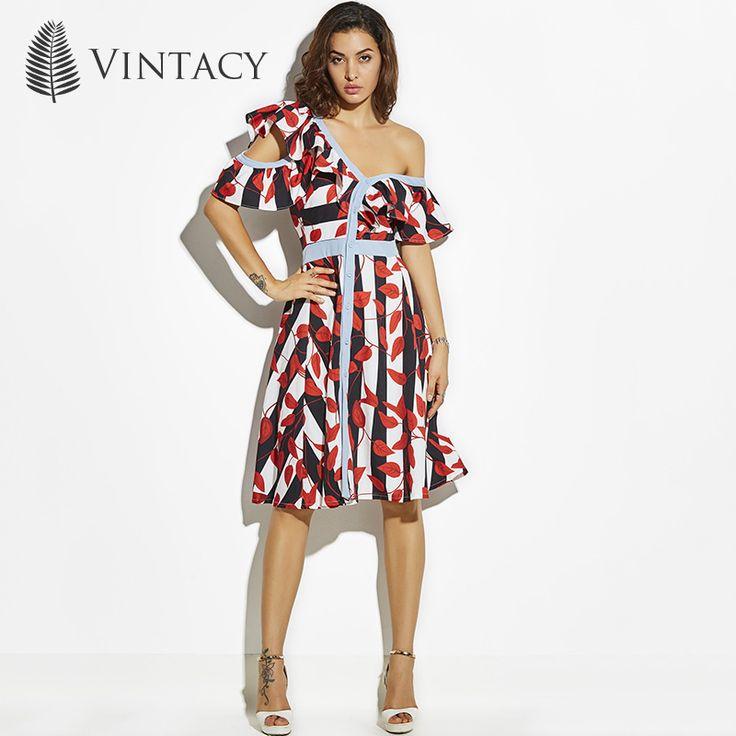 Vintacy Дизайнерские летние женские Длинное платье принт линия плюс Размеры пляжный отдых Платья повседневные весенние вечерние женские длинное платье купить на AliExpress