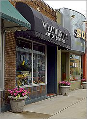 Whodunit Mystery Bookstore in Winnipeg, Manitoba....quaint little shop packed full of books and staffed by knowledgable book lovers....favourite book store!