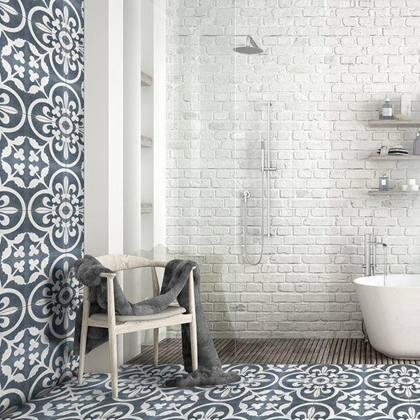 Istanblue Handmade Encaustic Cement Floor Tile   Otto Tiles & Design   Encaustic, Moroccan and ...