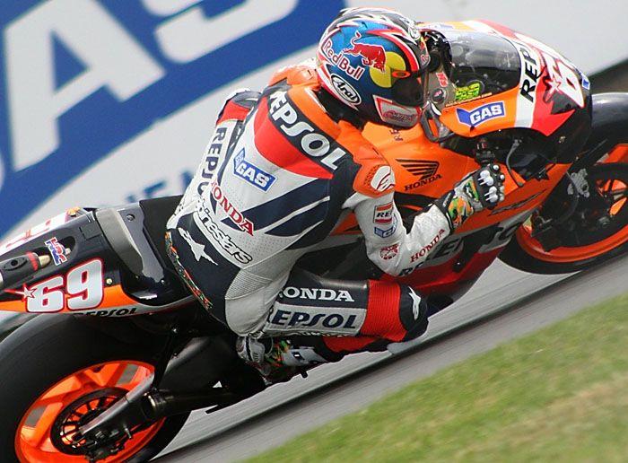 Nicky Hayden MotoGP Donington 2006