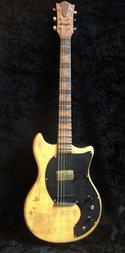Golden Age Electric Guitar  Colombani Guitares
