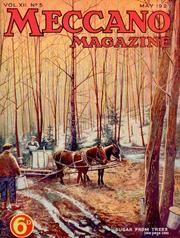 Revista vintage- May 1927 VOL XII- No 5