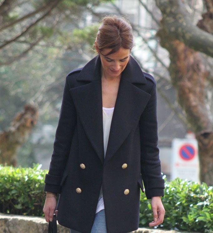 ¡¡ Es cuestión de Estilo !!! - Fashion Blog: Abrigo Navy...