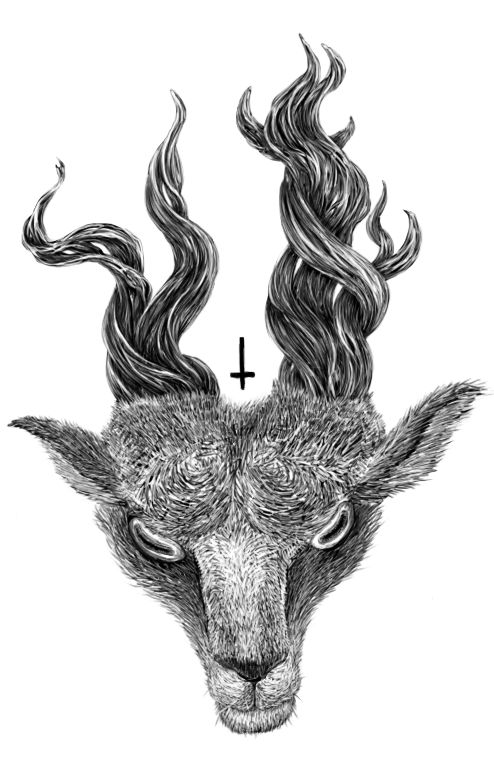 The Goats by Vlatko Rodionov, via Behance