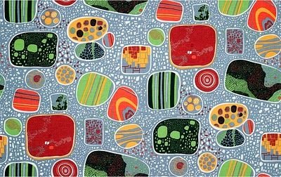 Josef Frank this reminds me of of my biology notebook from highschool... paramecium mmmm
