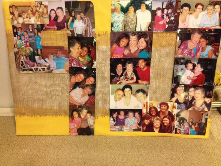 90th Bday Collage (colombian themed)