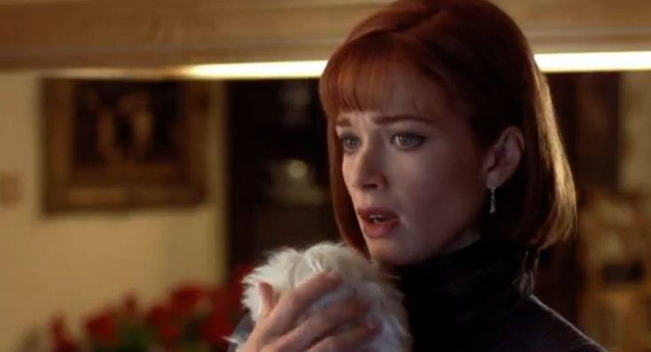 """Lauren Holly as Mary Swanson in 1994's """"Dumb and Dumber"""""""