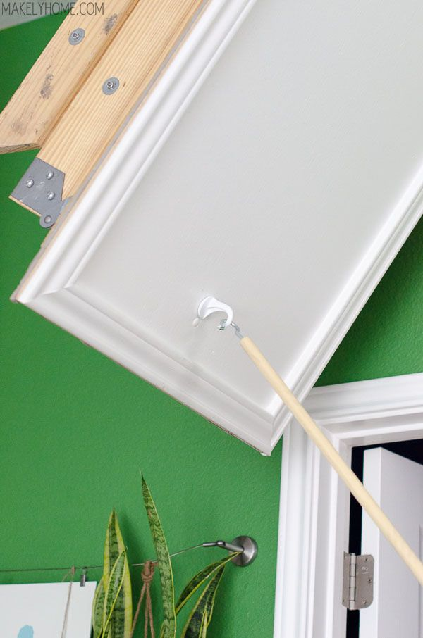 How To Replace Attic Cord With Hook And Pull Hooks And Cords