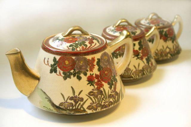 Kutani Tea Set    Antiques.com   Classifieds