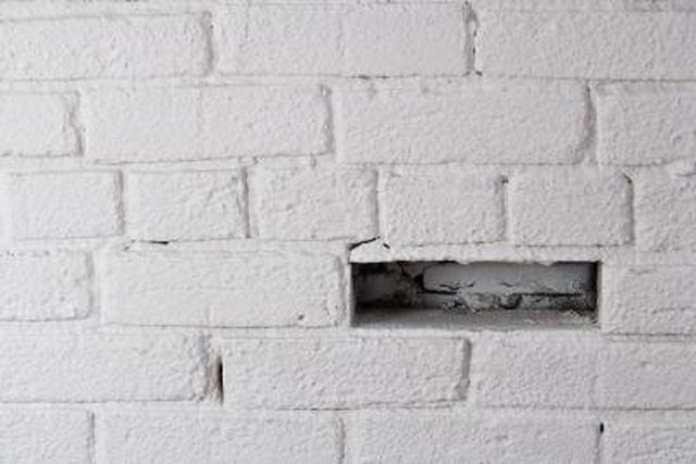How To Take White Paint Off Red Brick Painted Brick Walls Paint Remover Brick Interior Wall