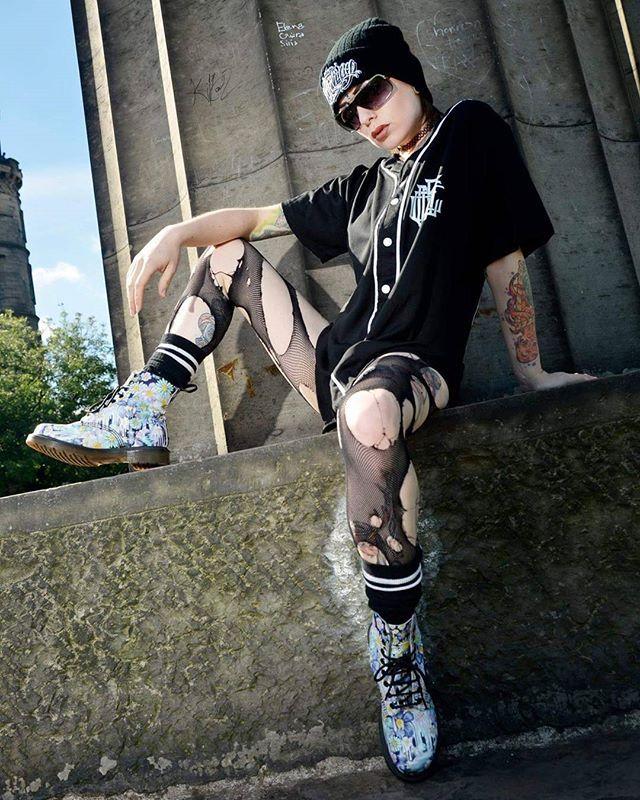 """Americunt"" Baseball Jersey & ""Conspiring"" Beanie available at www.crmc-clothing.co.uk | WE SHIP WORLDWIDE  Model - @izabellaraejaxxofficial Photography by @darklensstudio  #sixsixsix #tattooedwomen #hot #raglan #womenwithtattoos #tattooedmodels #beautiful #baseball #alternative #alternativefashion #alternativestyle #baseballjersey #fashionstatement #fashiongram #fashionista #instastyle #stylegram #fashion #fashionoftheday #dailyfashion #styles #style #alternativeguy #alternativeboy…"