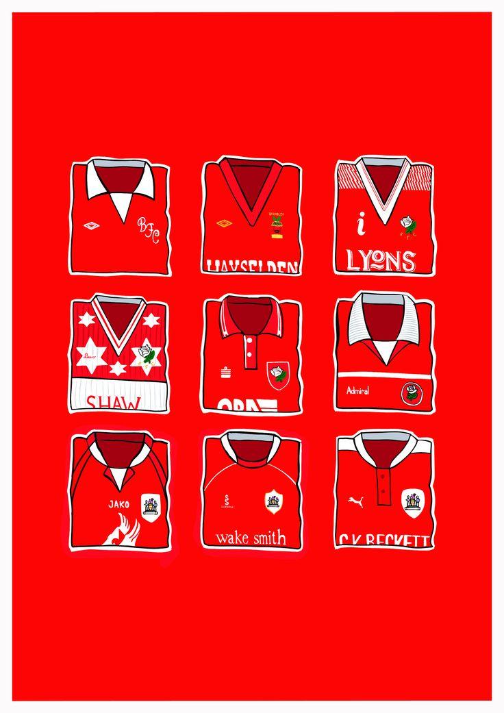 hallyink — Barnsley Classic Shirts