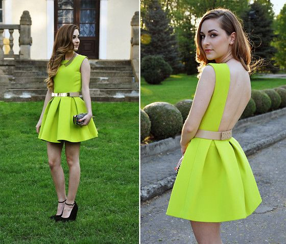 Perfect way to dress up neon