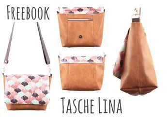 Freebook-Tasche Lina ist da! – Magische Creamna – Nähen