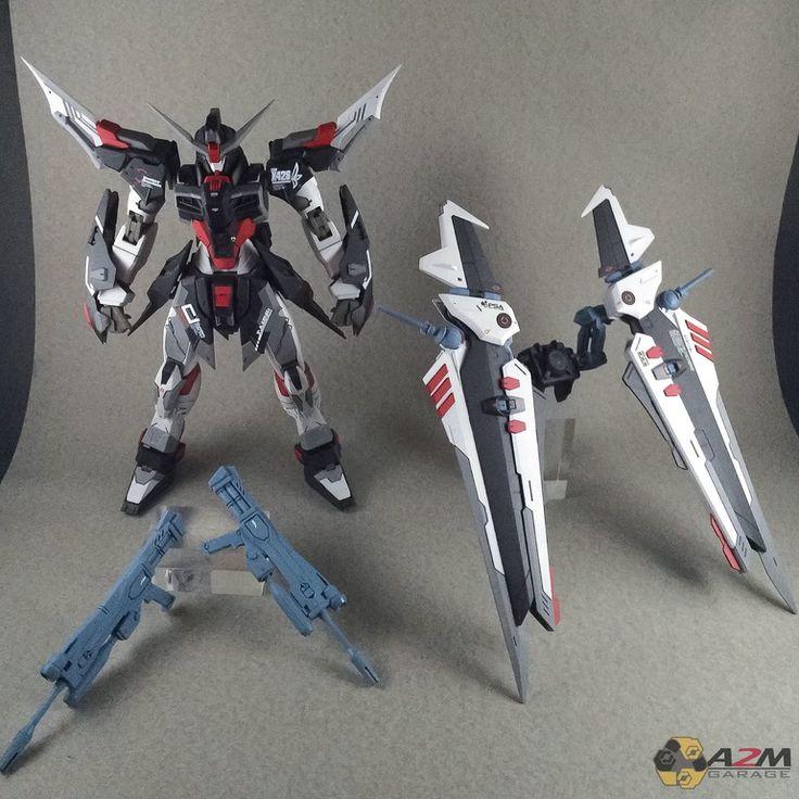 Custom Build: MG 1/100 Destiny Noir Gundam